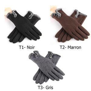 GANT - MITAINE Gants Femme Gants d'hiver Gants tactiles Gants pou