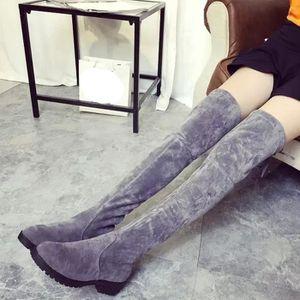 BOTTE Femmes Mode Automne Hiver Bottes à talon moyen Bas