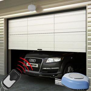 PORTE DE GARAGE Porte de Garage sectionnelle avec interrupteur et