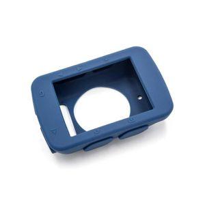 ÉTUI GPS vhbw housse en silicone bleu foncé pour appareil d
