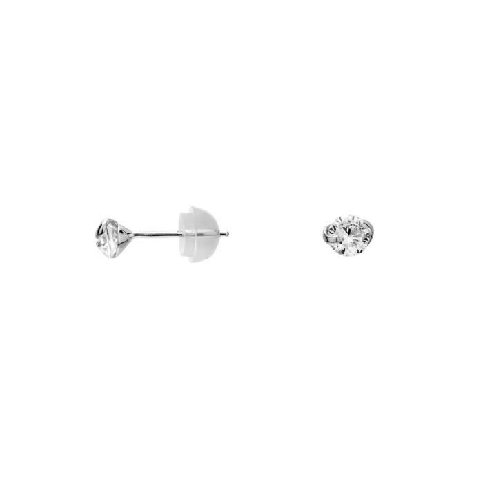Boucles doreilles CLEOR Or 375/1000 Oxyde