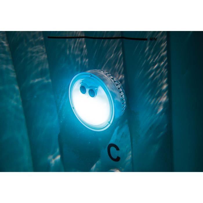 Projecteur led a piles pour spa gonflable intex - Lumiere d ambiance salon ...