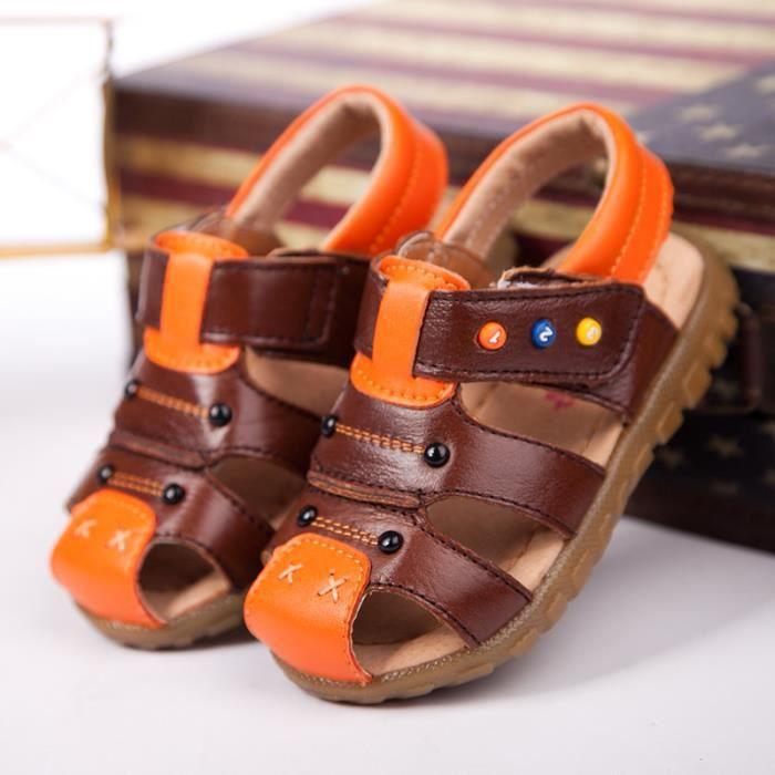Sandales Garçon chaussures de marche d'été enfa...