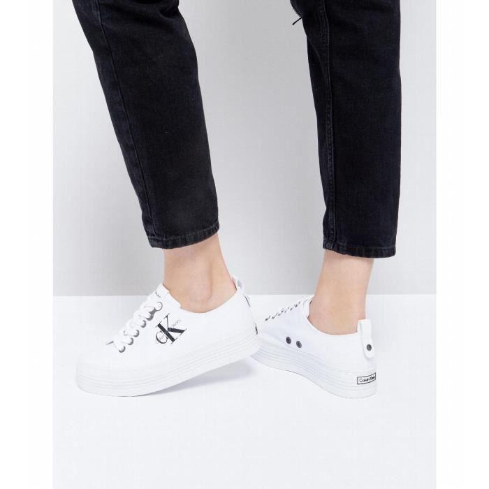 Offre Boutique Pas Cher Boutique En Ligne De La France Calvin Klein Jeans ZOLAH - Baskets basses - red La Vente En Ligne Populaire dégagement K3QDNbI2vw