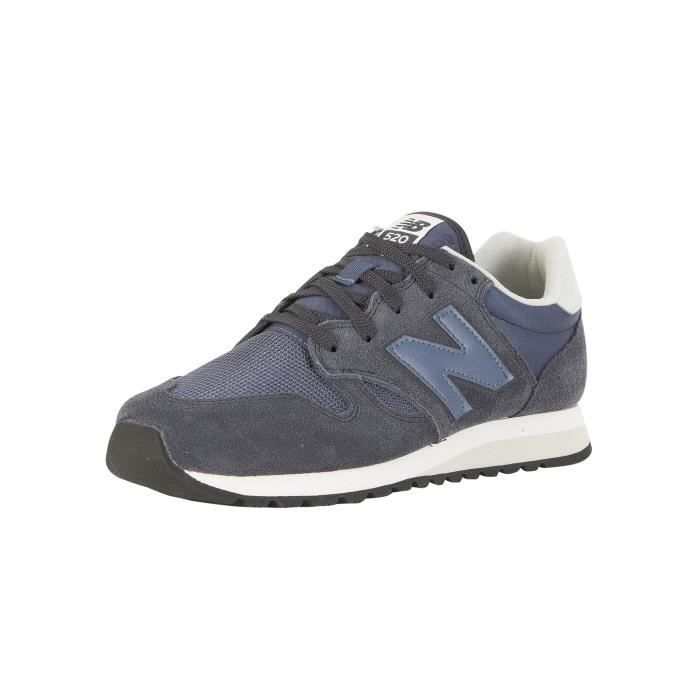 New Balance Homme 520 Trainers, Noir, 45