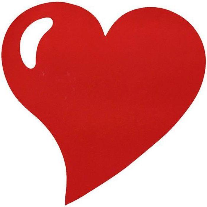 set de table coeur rouge achat vente pas cher. Black Bedroom Furniture Sets. Home Design Ideas