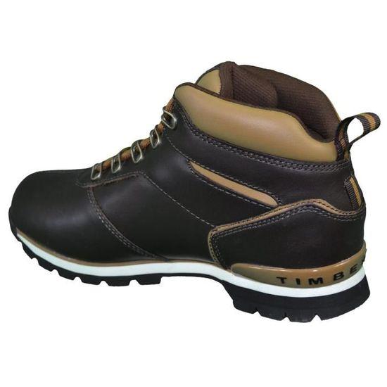 Boots - Chaussures Montantes - Homme - Timberland - Splitrock 2 Hiker Cuir  - Marron Foncé Marron Marron - Achat   Vente bottine - Soldes  dès le 9  janvier ! 166096f2577e