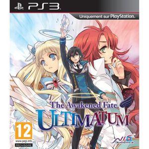 JEU PS3 Awakened Fate Ultimatum Jeu PS3