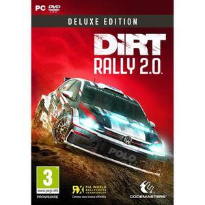 JEU PC NOUVEAUTÉ Dirt Rally 2.0 Deluxe Édition Jeu PC
