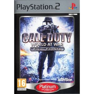 JEU PS2 CALL OF DUTY WORLD AT WAR / jeu console PS2