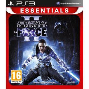 JEU PS3 Star Wars 2 : Le Pouvoir de La Force Jeu PS3