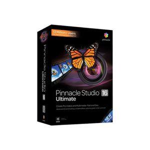 MULTIMÉDIA Pinnacle Studio Ultimate (v. 16) pack de boîtiers