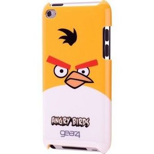 COQUE MP3-MP4 Gear4 Angry birds iPod jaune