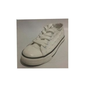 Conv Chaussures Basses Achat style Pour Fille Blanche Baskets gyIvf7Yb6