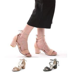 Sandales Peep Toe Solide Couleur Chaussures en cuir verni 4774312 1JGtlQ
