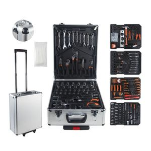 PACK OUTIL A MAIN MANUPRO Valise aluminium multi outils 999 accessoi