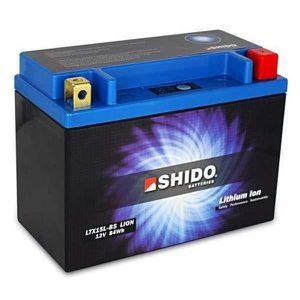 BATTERIE VÉHICULE Batterie Lithium Shido LTX15L-BS = YTX15L-BS