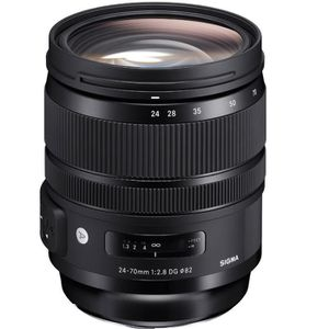 OBJECTIF Sigma 24-70mm F2.8 DG OS HSM | Art (Canon) objecti