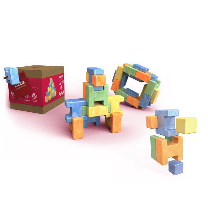 LUDUS- Wally XL - Jeux assemblage en bois - Mixte - A partir de 3 ans