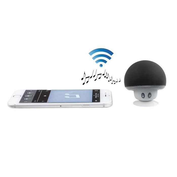 Mini haut-parleur compatible Bluetooth®, puissance 3 W, micro intégré pour répondre aux appels téléphoniquesENCEINTE NOMADE - HAUT-PARLEUR NOMADE - ENCEINTE PORTABLE - ENCEINTE MOBILE - ENCEINTE BLUETOOTH - HAUT-PARLEUR BLUETOOTH