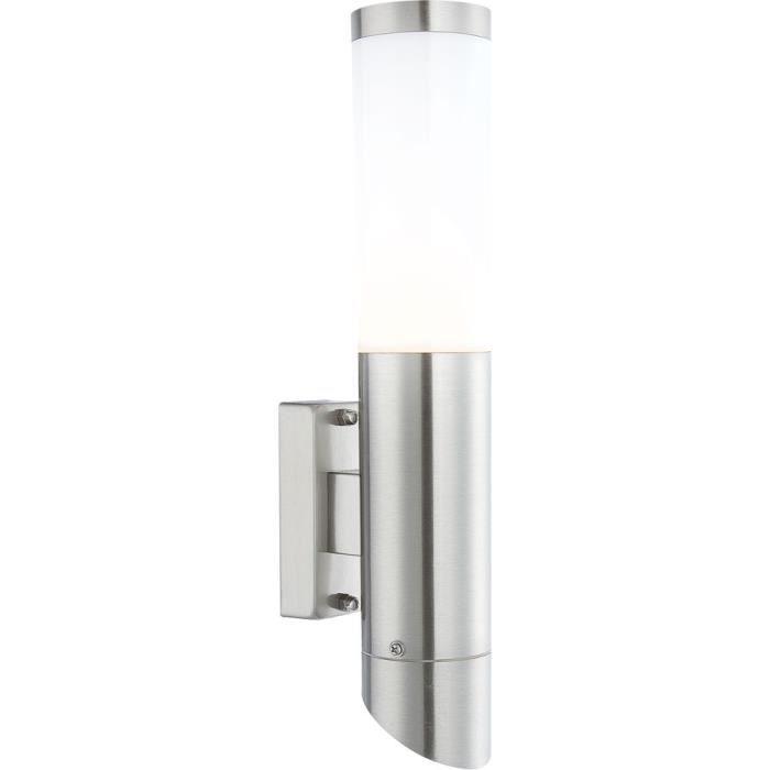 Eclairage exterieur pas cher maison et jardin discount for Luminaire exterieur inox