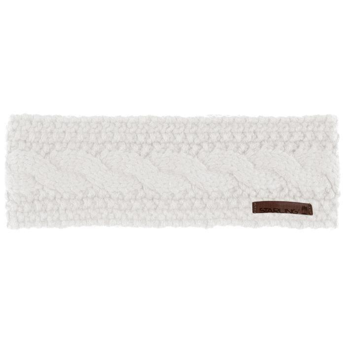 STARLING Bandeau doublure polaire Estelle - Femme - Blanc