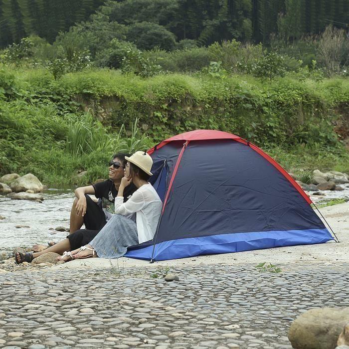 Waterproof Pédestre Randonnée Tente Double Voyage 2 Personne Camping 54R3jAL