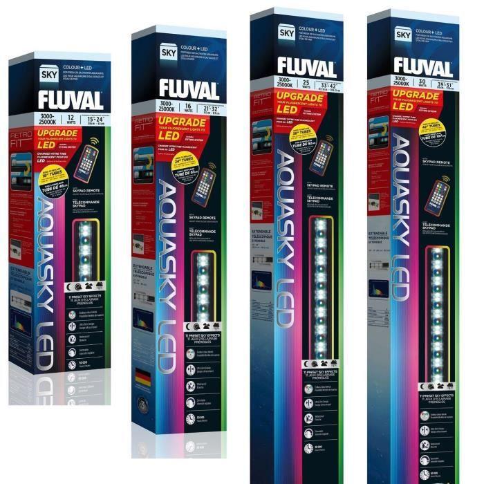 ÉCLAIRAGE FLUVAL Rampe d'éclairage Galerie LED Aquasky - 99