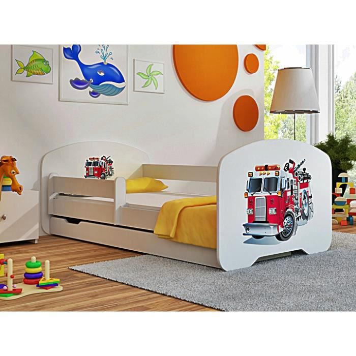 lit enfant pompier achat vente pas cher. Black Bedroom Furniture Sets. Home Design Ideas