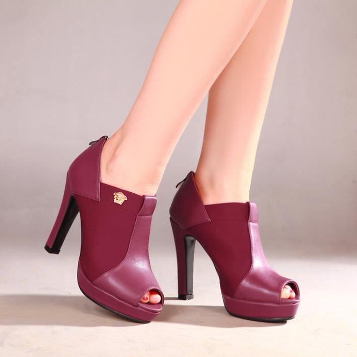 talons hauts-Pure Colorpais Sandales de pompe de talon pour dames VD56gN