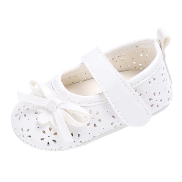 Sandales Bébé Fille Nœud Papillon Chaussures Mignon Eté IiQUGala
