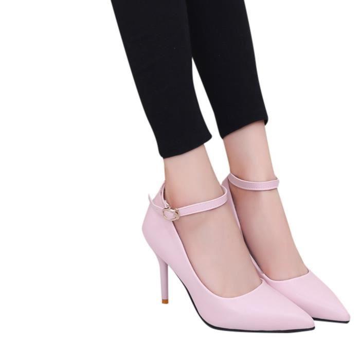 Veberge 6671 Les Talons Party Sexy Femmes Chaussures Minces Escarpins Bout De Pointu Mariage UCORCqw