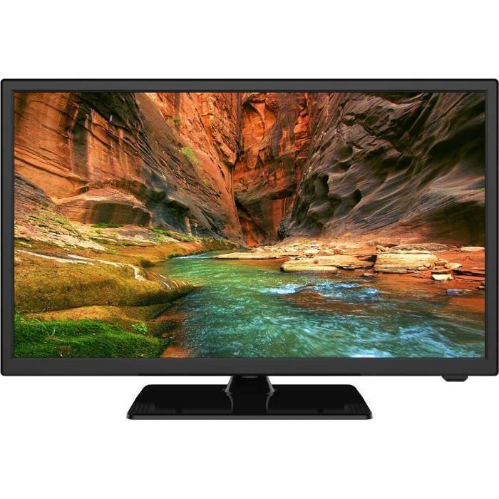 Oceanic tv led hd 24 60 cm pied central hdmi usb classe énergétique a