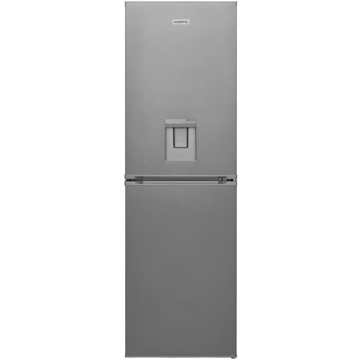 OCEANIC OCEAFC239DS Réfrigérateur congélateur bas-245L(152L + 93L)-Froid statique et ventilé A + L54