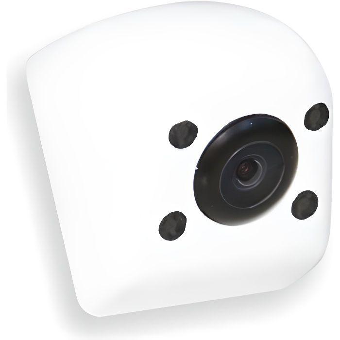 BEEPER Micro-caméra de recul IR - Angle 170° - Blanc