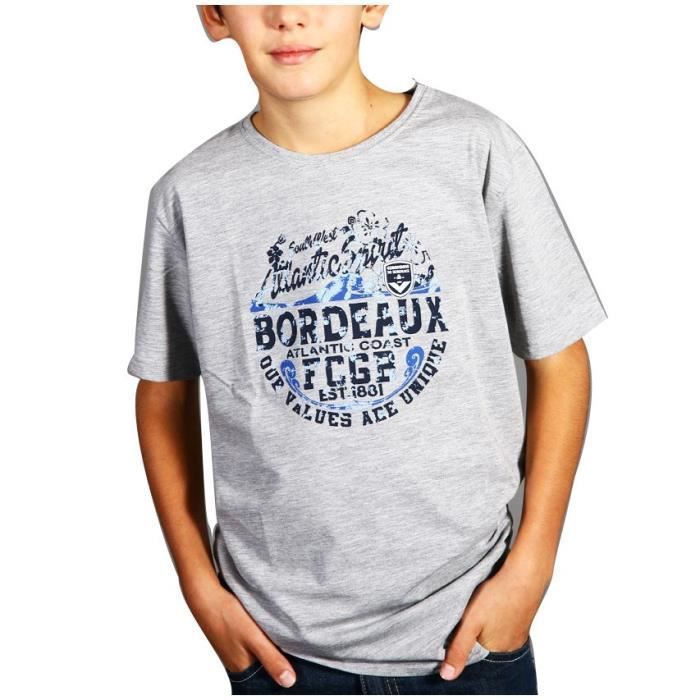 FCGB Tee-shirt Southwest Atlantic spirit - Junior - Gris