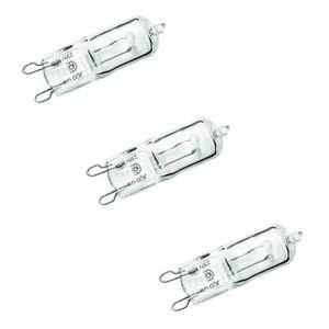 SYLVANIA Lot de 3 ampoules Hi-pin Ecohalo G9 53 W équivalent ? 75 W