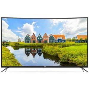 Téléviseur LED CONTINENTAL EDISON TV 55' LED UHD 4K - Écran incur