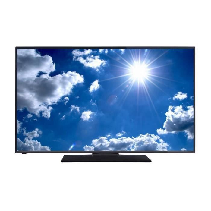 continental edison tv dled49b3 full hd 1080p 122cm 49 pouces led 2 hdmi classe a. Black Bedroom Furniture Sets. Home Design Ideas