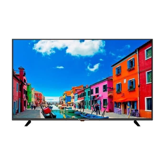 Téléviseur LED Continental Edison TV 49,5' (125,7 cm) 4K UHD (384