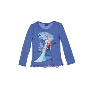 T-SHIRT LA REINE DES NEIGES T-shirt - Enfant fille - Bleu