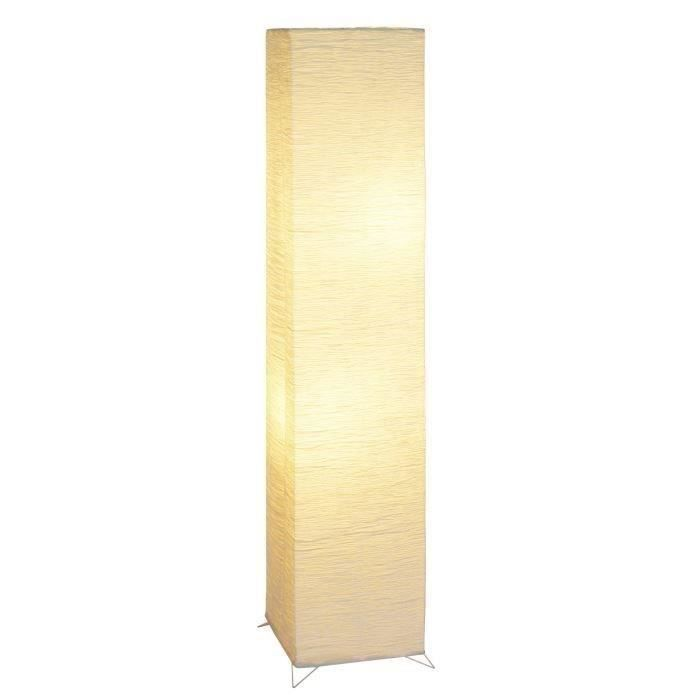 lampadaire papier de riz hauteur 123 cm achat vente. Black Bedroom Furniture Sets. Home Design Ideas