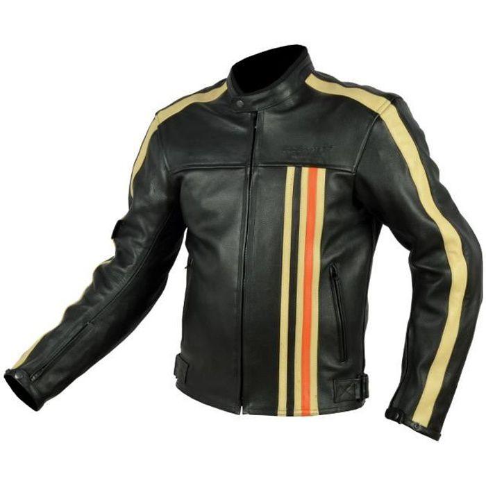 blouson cuir moto homme achat vente blouson cuir moto homme pas cher cdiscount. Black Bedroom Furniture Sets. Home Design Ideas