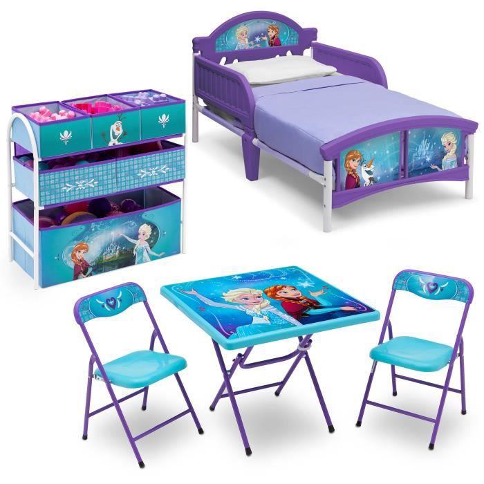 la reine des neiges chambre enfant compl te tout en un achat vente chambre compl te. Black Bedroom Furniture Sets. Home Design Ideas