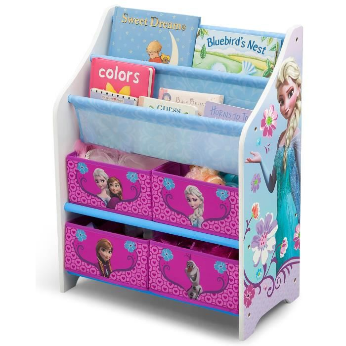 la reine des neiges meuble enfant de rangement jouets. Black Bedroom Furniture Sets. Home Design Ideas