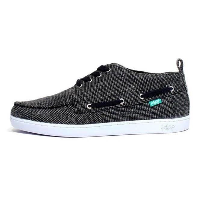 KEEP Chaussures Bateaux Solis - Homme - Noir sIrzcOteP