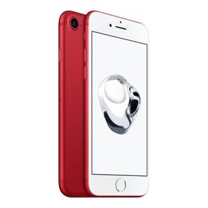 SMARTPHONE APPLE iPhone 7 Rouge 256 Go - Special Edition