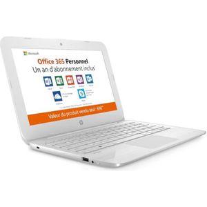 ORDINATEUR PORTABLE HP PC STREAM- 11y009NF- 11.6