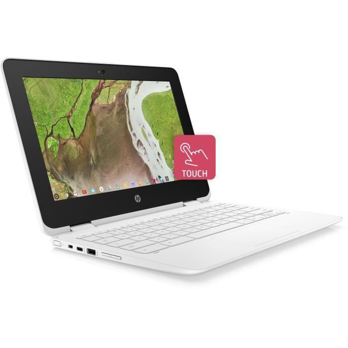 """ORDINATEUR PORTABLE HP PC Portable Chromebook 11-ae109nf - 11,6"""" HD -"""