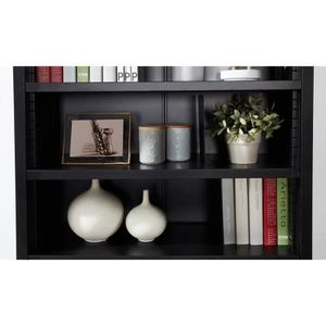 Bibliotheque bois metal achat vente bibliotheque bois metal pas cher cd - Bibliotheque noir laque ...